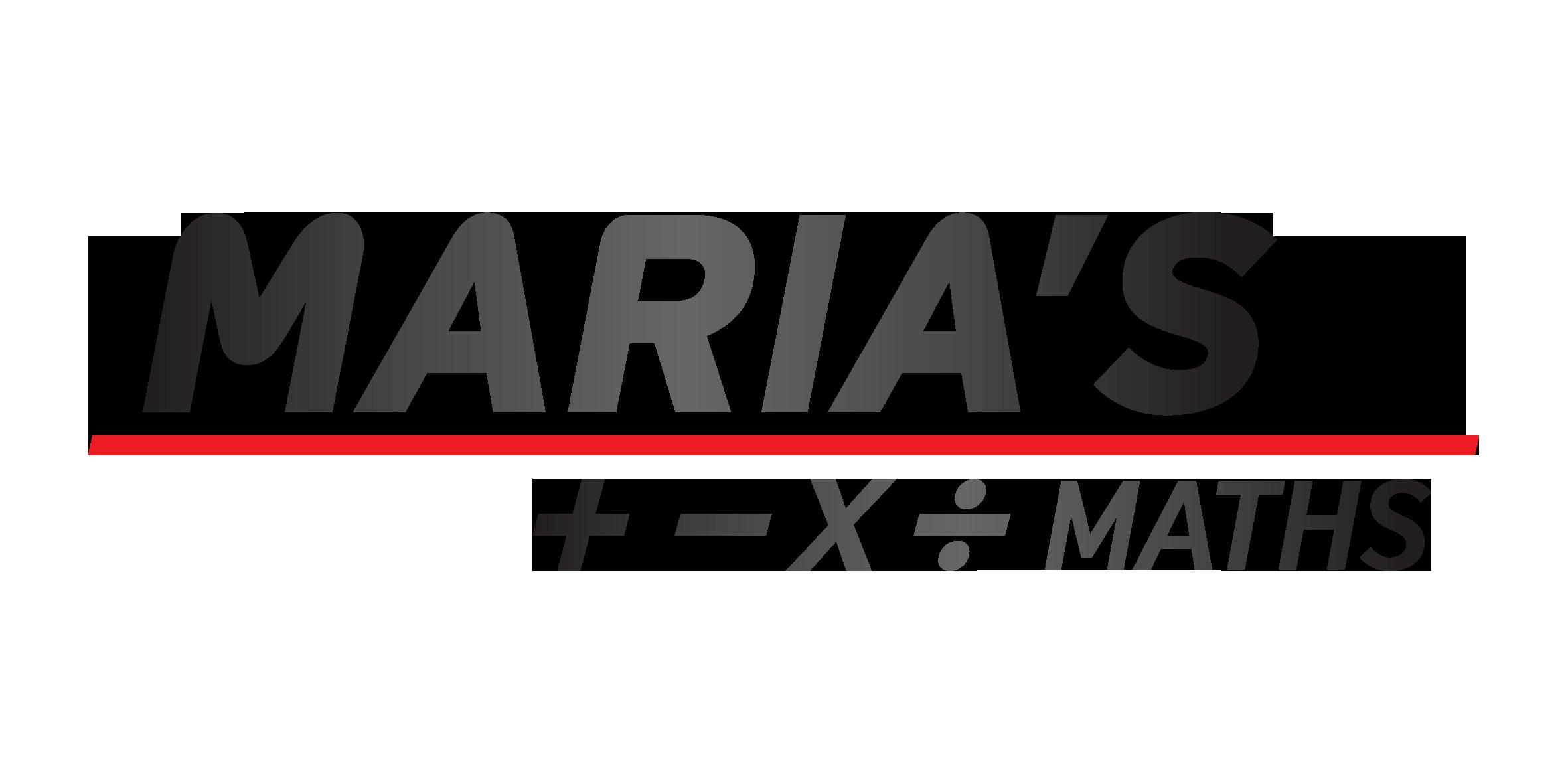 Marias Maths